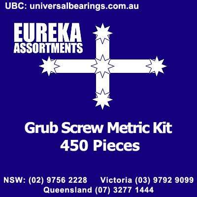 grub screw metric 450 piece