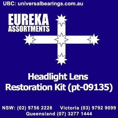 headlight lens restoration kit