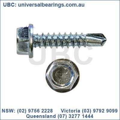 hex head self drilling screw 200 pieces