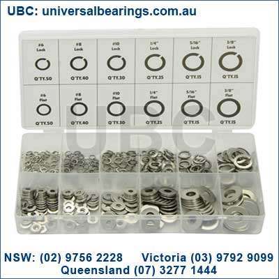 Lock and Flat Washer Kit grab kit 350 piece