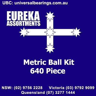 metric ball kit 640 piece