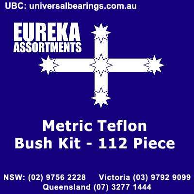 metric teflon bush kit 112 piece 1