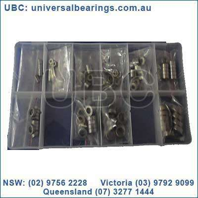 miniature stainless bearing kit 120 pieces