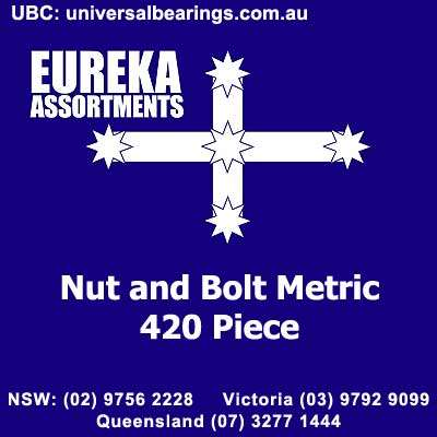 nut and bolt metric kit 420 pieces