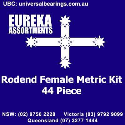 rod end female metric kit 44 piece 1