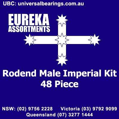 rod end male imperial kit 48 piece 1