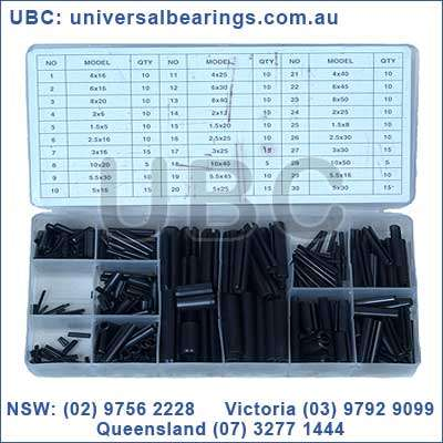 roll pin metric kit 315 pieces