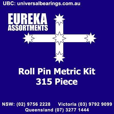 roll pin metric kit 315 piece