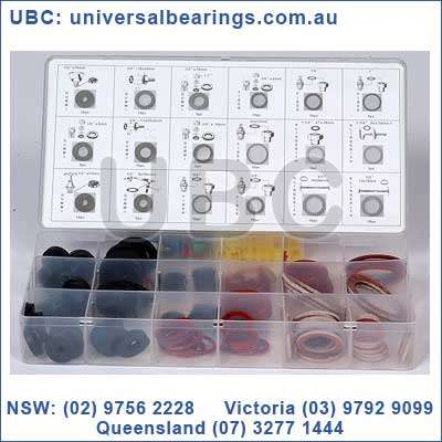 sealing washers kit 146 piece