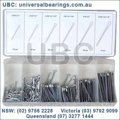 cotter pin kit 280 piece