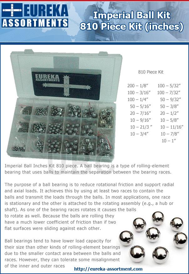 imperial ball kit 810 pieces eureka assortments