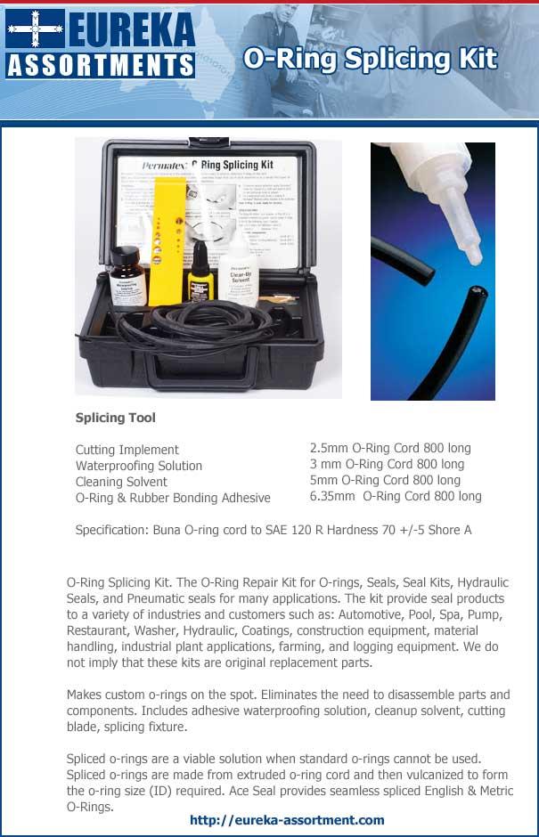 o-ring splicing kit eureka assortmenta
