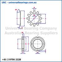 Bearing Adapter Sleeve Washer